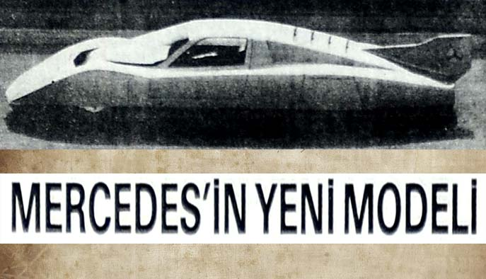 Mercedes'in yeni modeli
