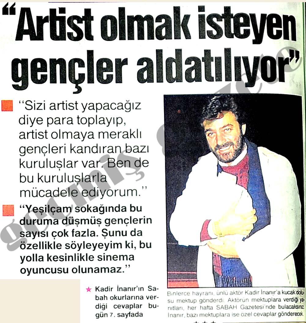 """""""Artist olmak isteyen gençler aldatılıyor"""""""