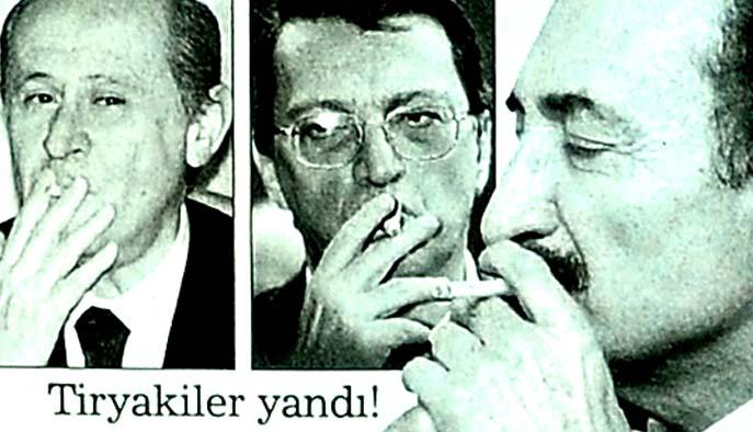 Ortaklara sigara darbesi