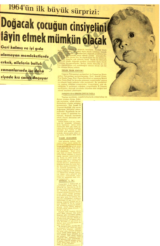 1964'ün ilk büyük sürprizi