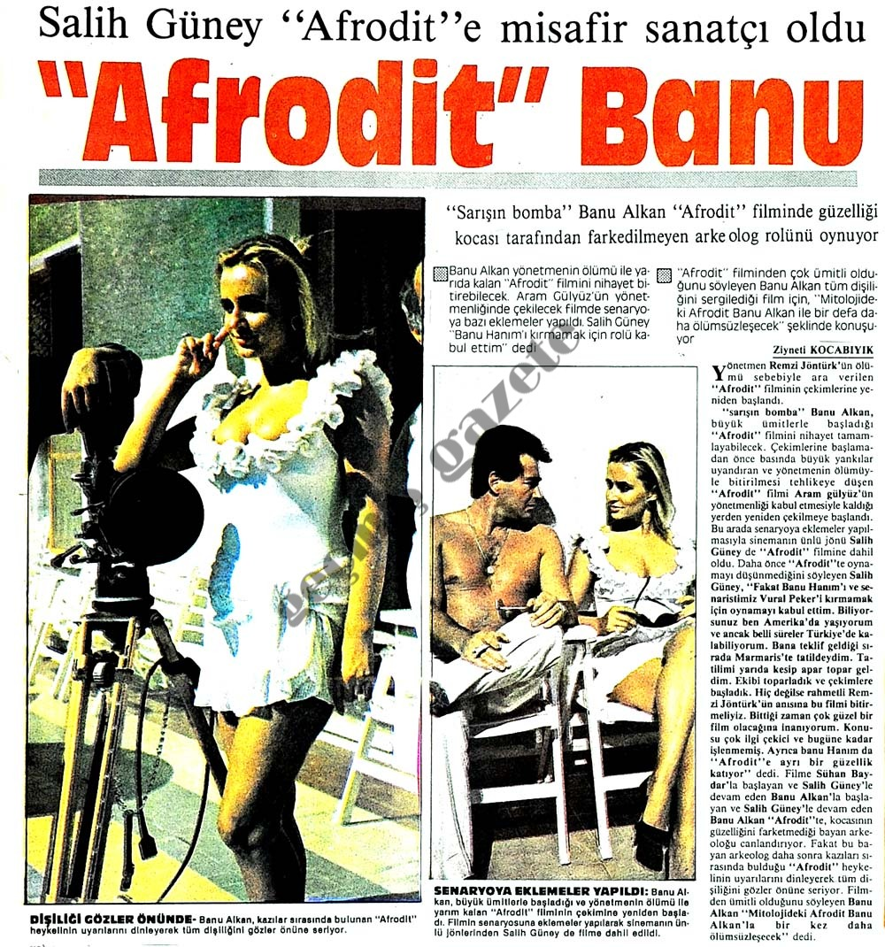 """""""Afrodit"""" Banu"""
