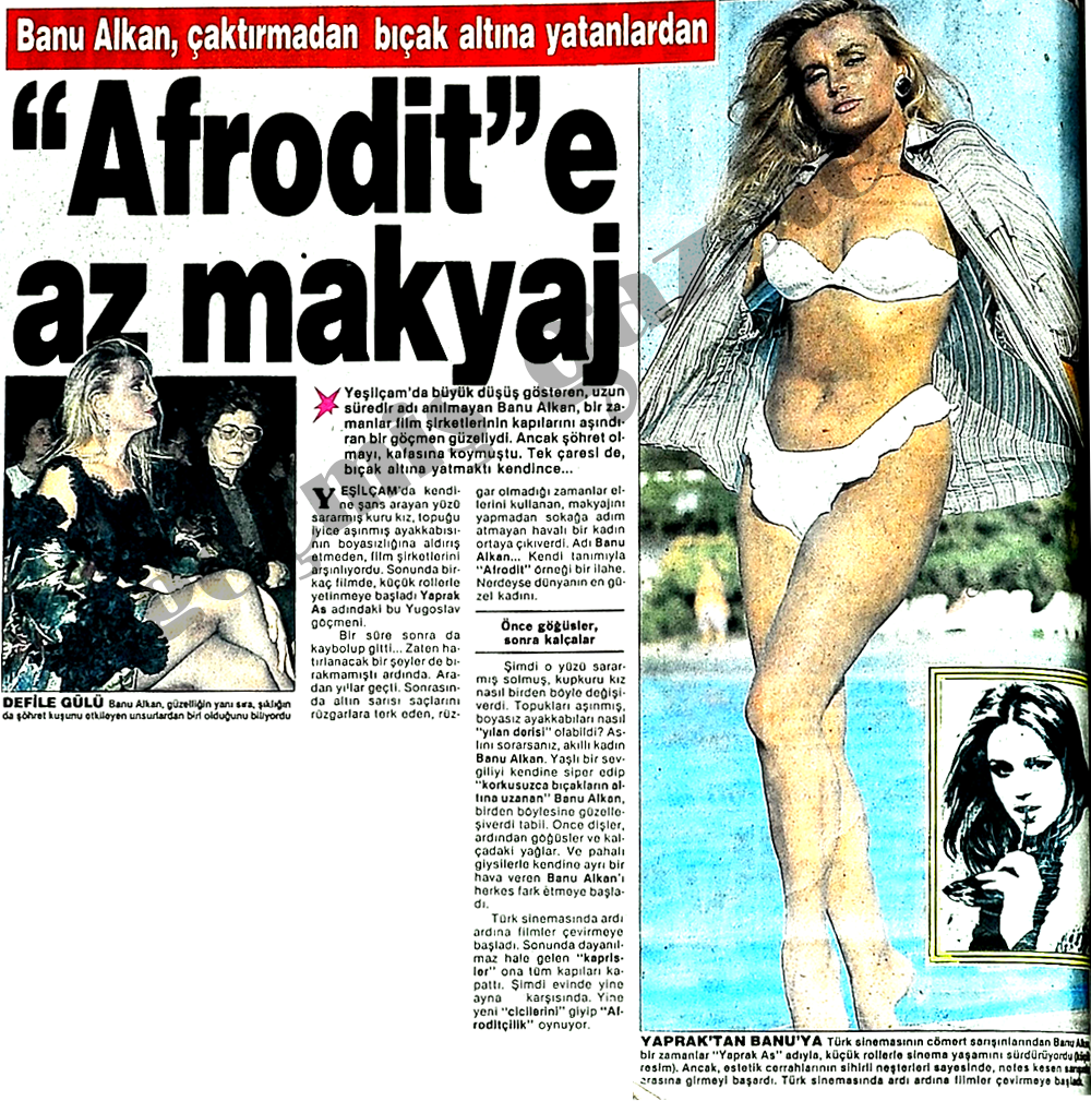 """""""Afrodit""""e az makyaj"""