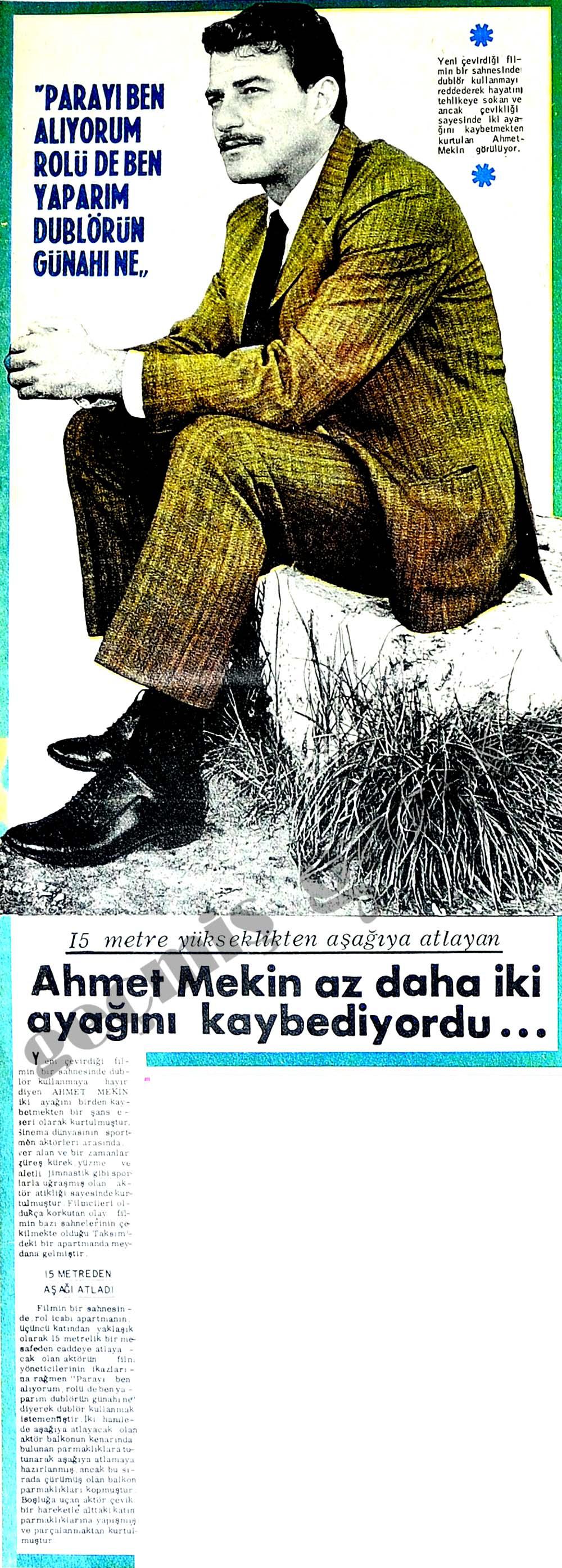 Ahmet Mekin az daha iki ayağını kaybediyordu