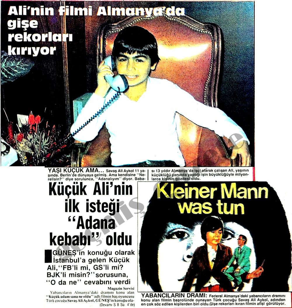 Ali'nin filmi Almanya'da gişe rekorları kırıyor