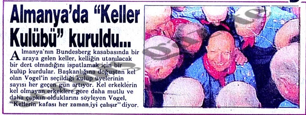 """Almanya'da """"Keller Kulübü"""" kuruldu..."""