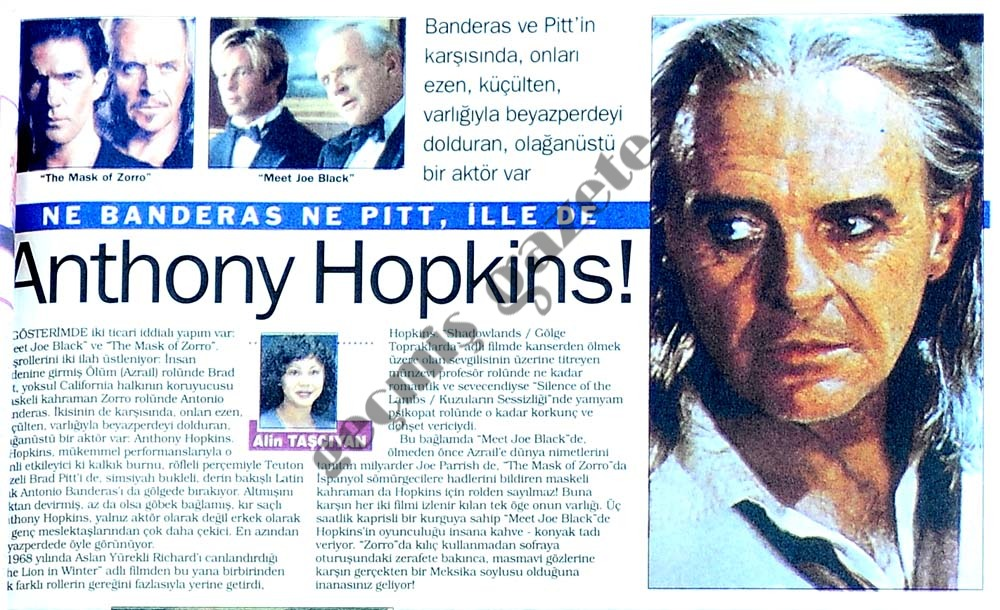 Anthony Hopkins!