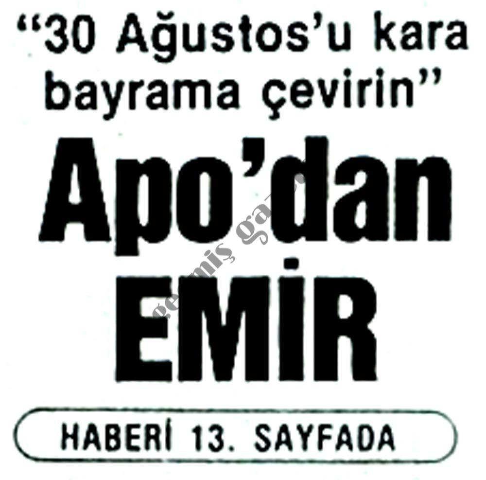 Apo'dan EMİR