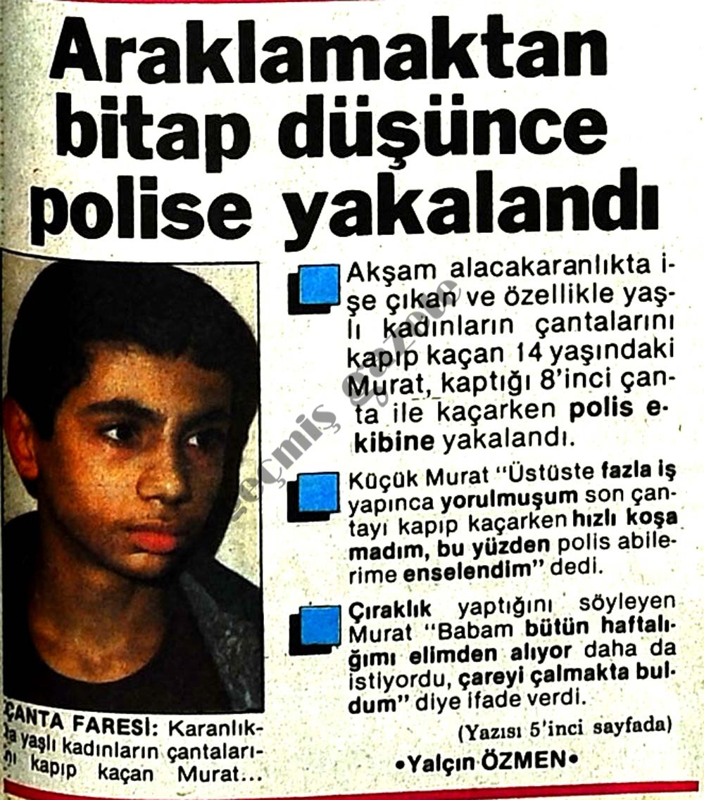 Araklamaktan bitap düşünce polise yakalandı