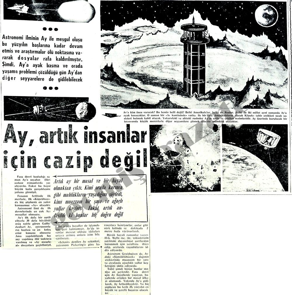Ay, artık insanlar için cazip değil