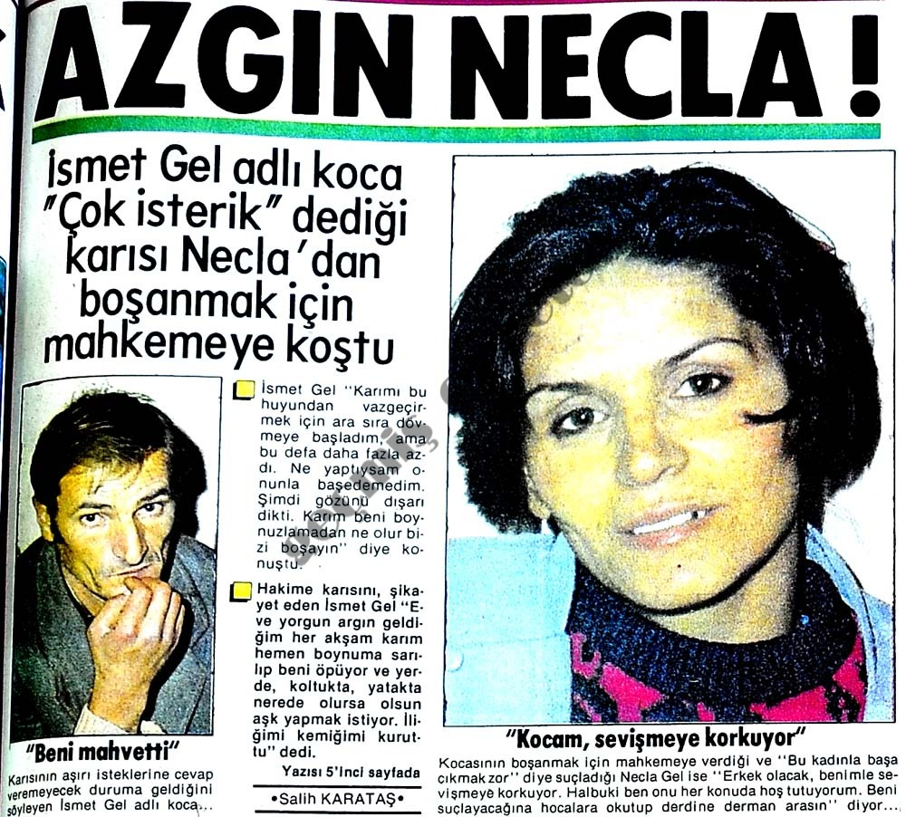 Azgın Necla!