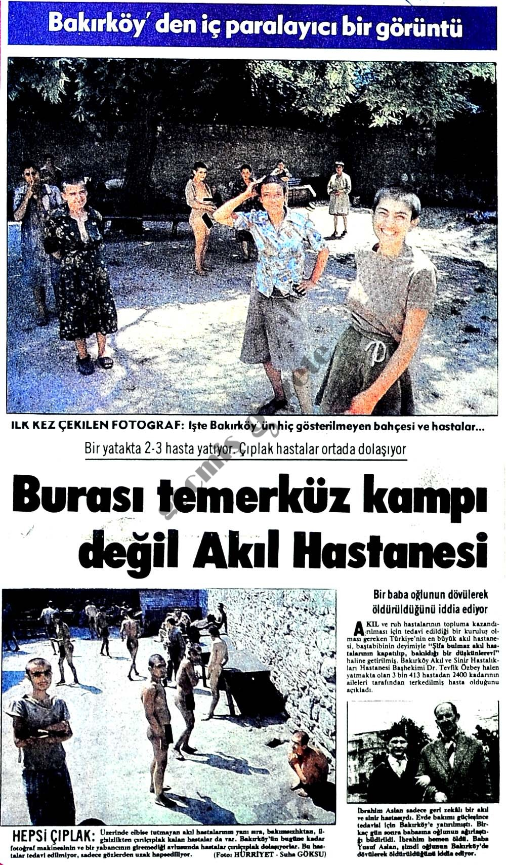 Bakırköy'den iç parçalayıcı bir görüntü