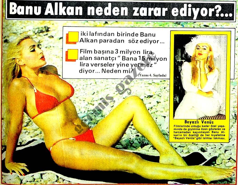 Banu Alkan neden zarar ediyor?
