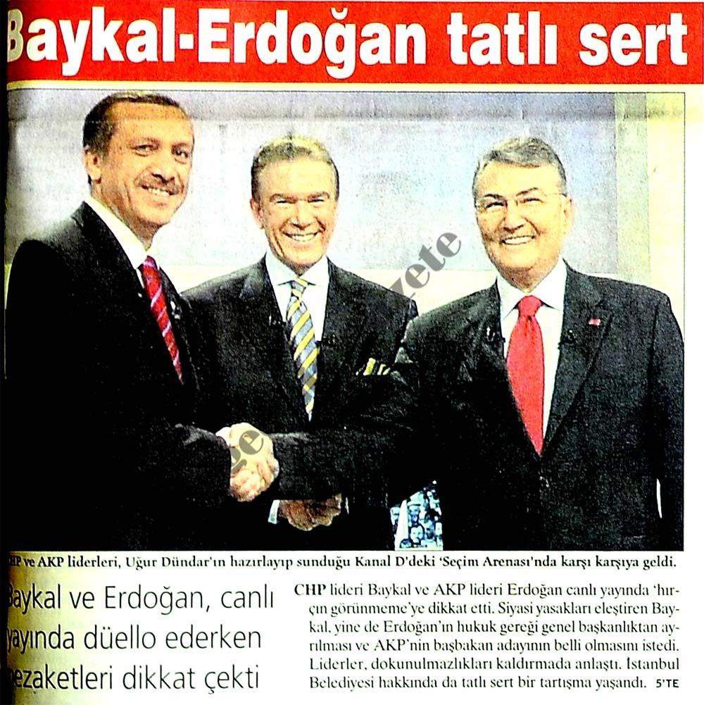 Baykal-Erdoğan tatlı sert