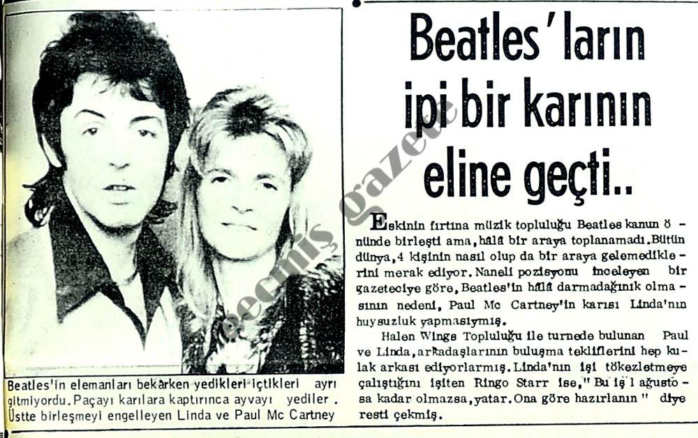 Beatles'ların ipi bir karının eline geçti