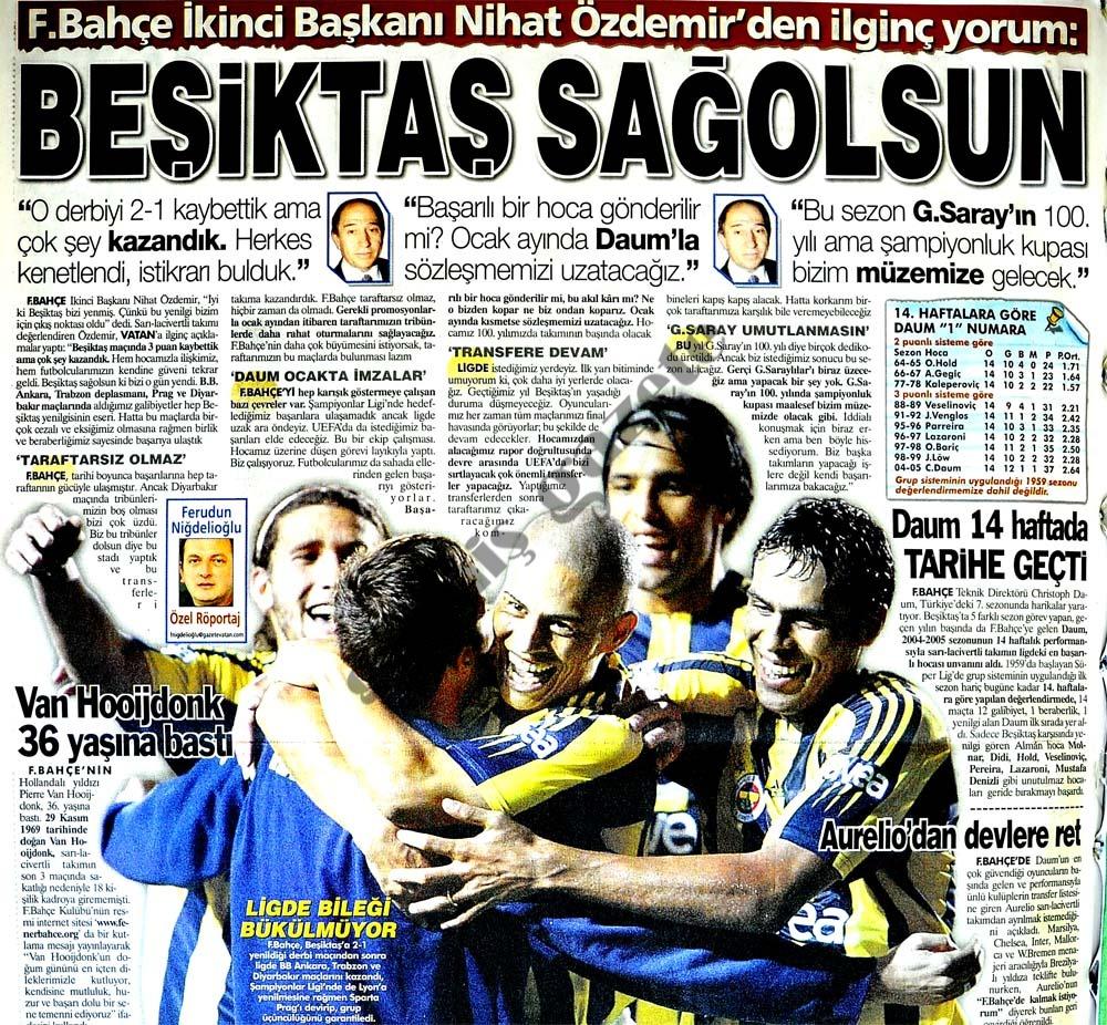 Beşiktaş sağolsun