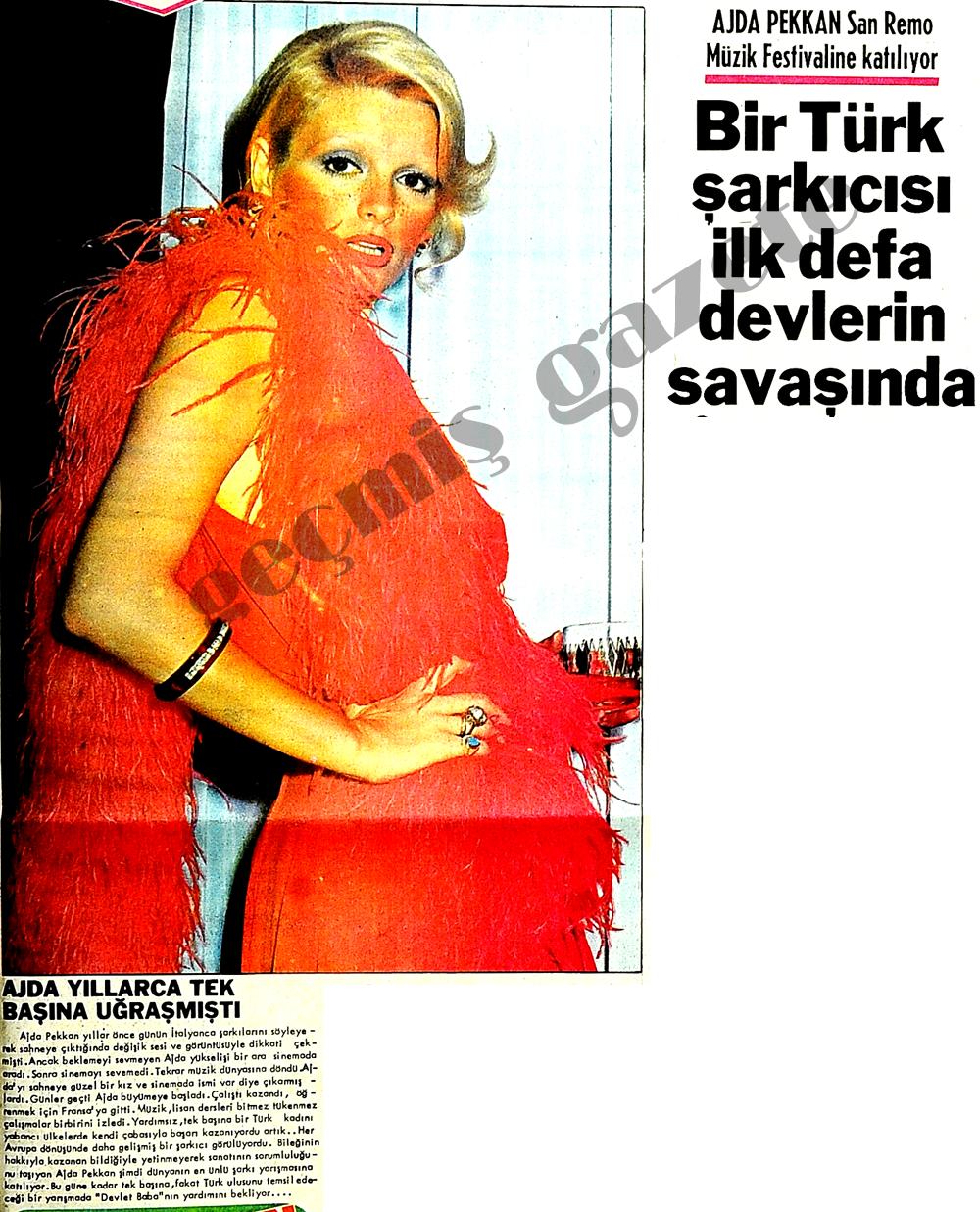 Bir Türk şarkıcısı ilk defa devlerin savaşında