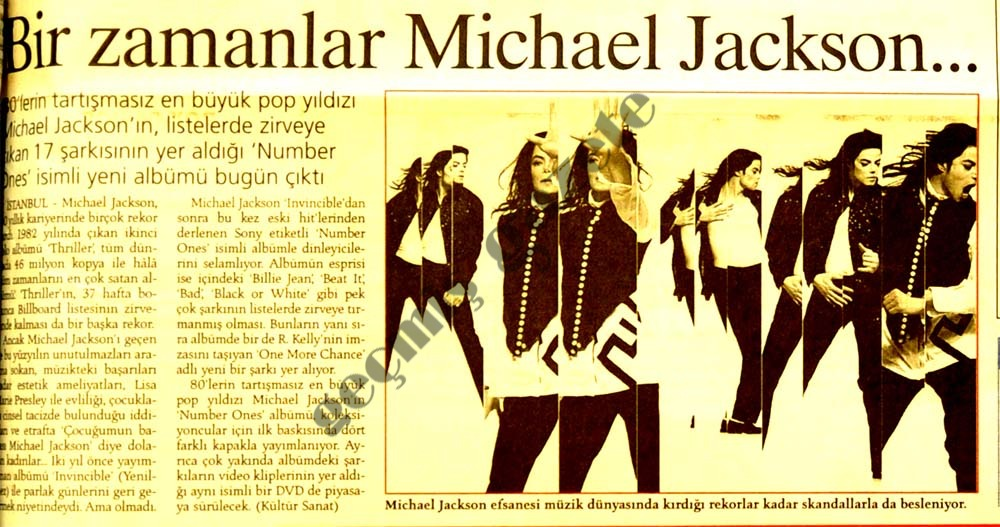 Bir zamanlar Michael Jackson