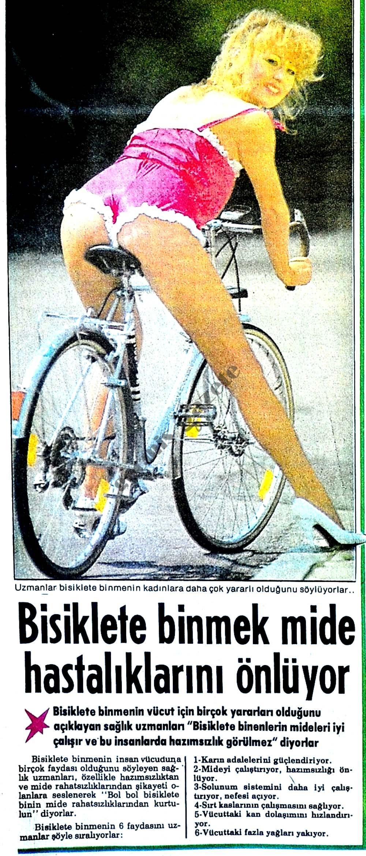 Bisiklete binmek mide hastalıklarını önlüyor