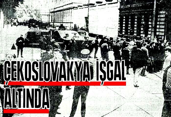 Çekoslovakya İşgal Altında