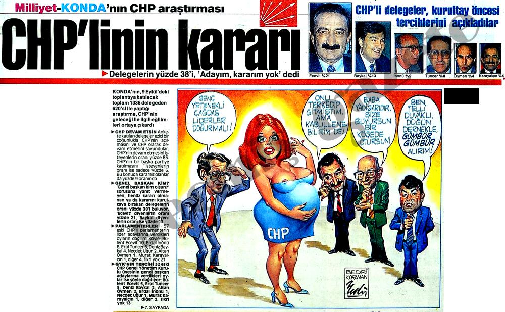 CHP'linin kararı