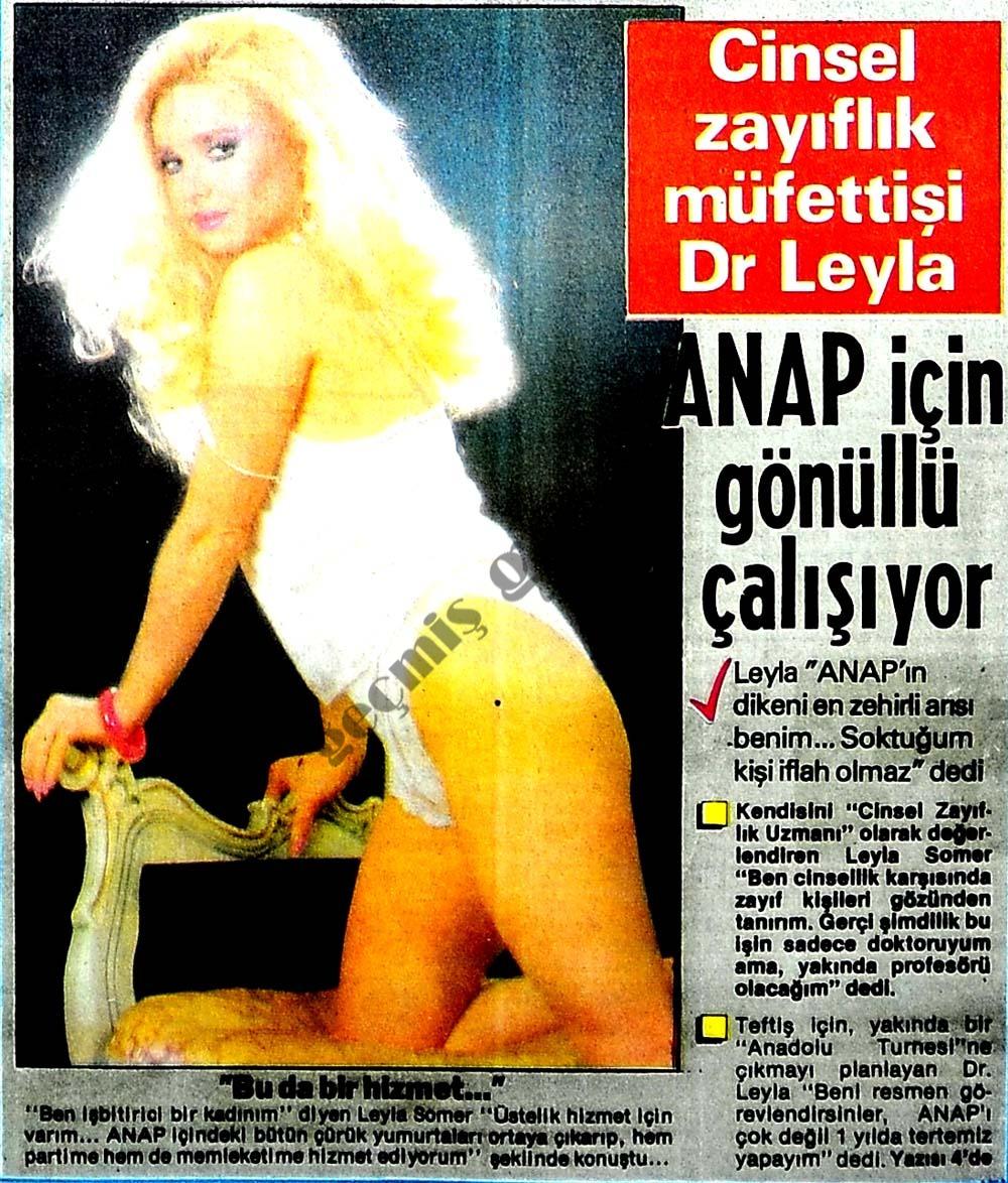 Cinsel zayıflık müfettişi Dr Leyla