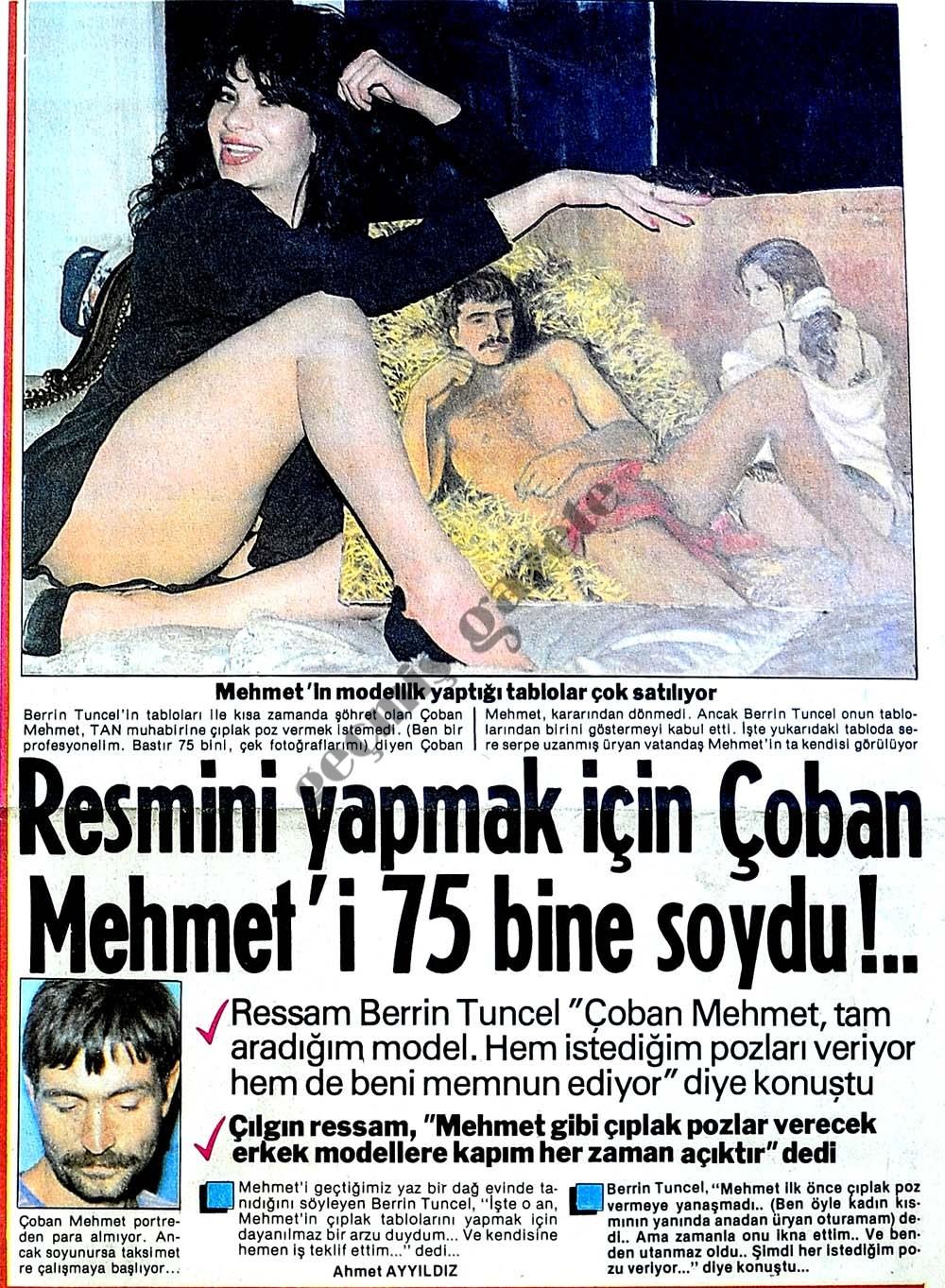 Çoban Mehmet'i 75 bine soydu