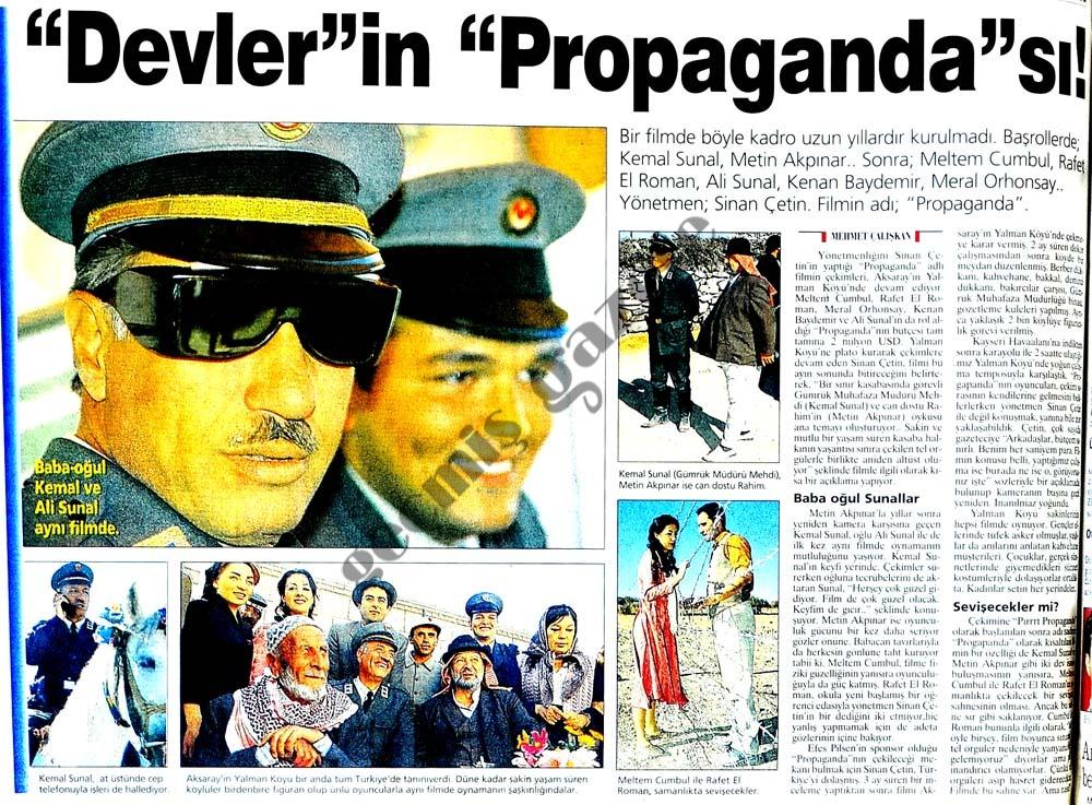 """""""Devler""""in """"Propaganda""""sı!"""
