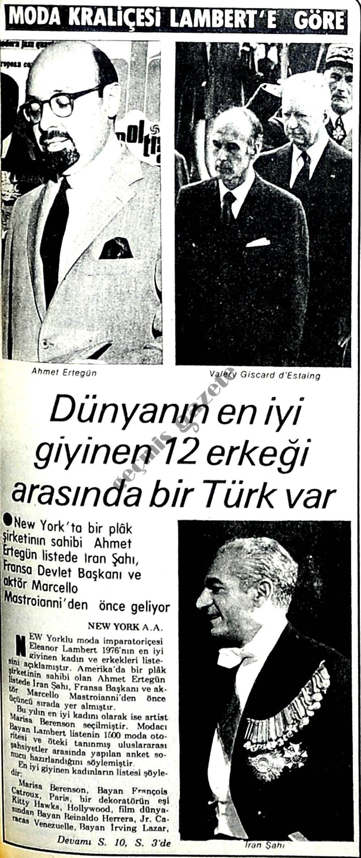Dünyanın en iyi giyinen 12 erkeği arasında bir Türk var