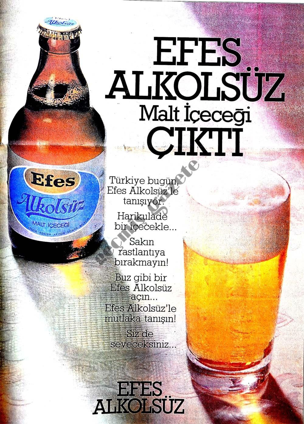 Efes alkolsüz malt içeceği çıktı