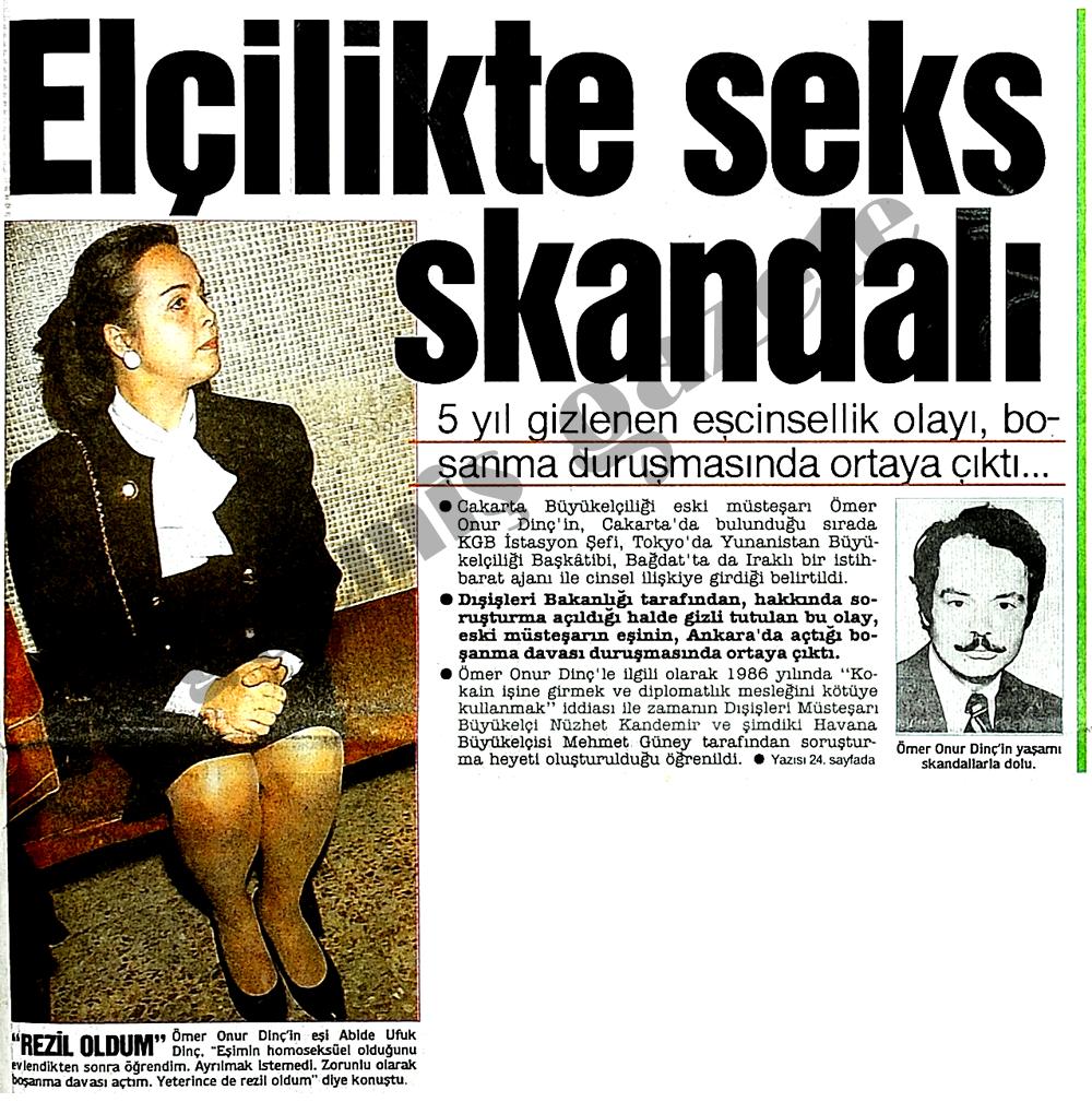 Elçilikte seks skandalı