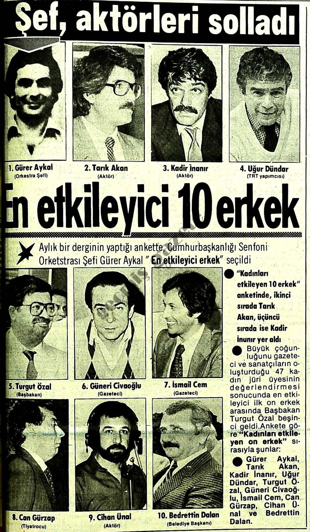 En etkileyici 10 erkek