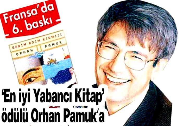'En iyi Yabancı Kitap' ödülü Orhan Pamuk'a