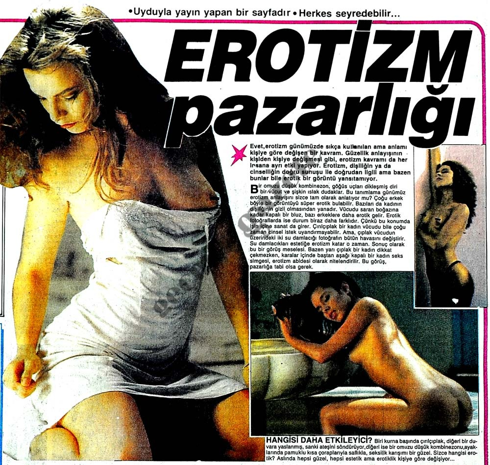 Erotizm pazarlığı