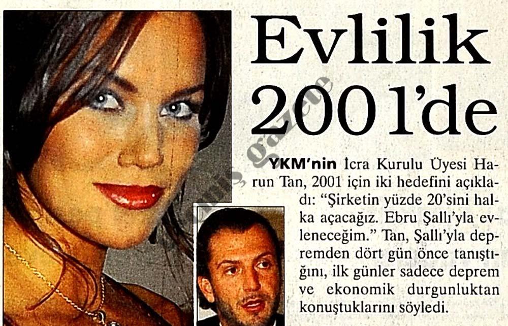Evlilik 2001'de
