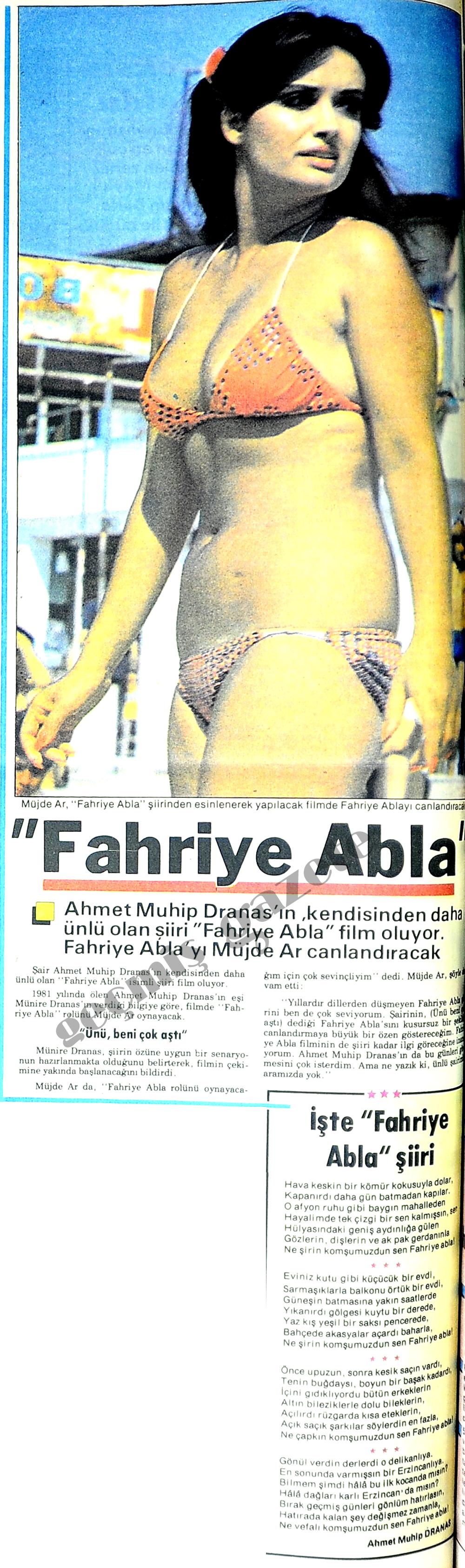 Fahriye Abla