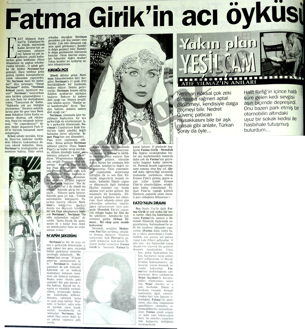 Fatma Girik'in acı öyküsü