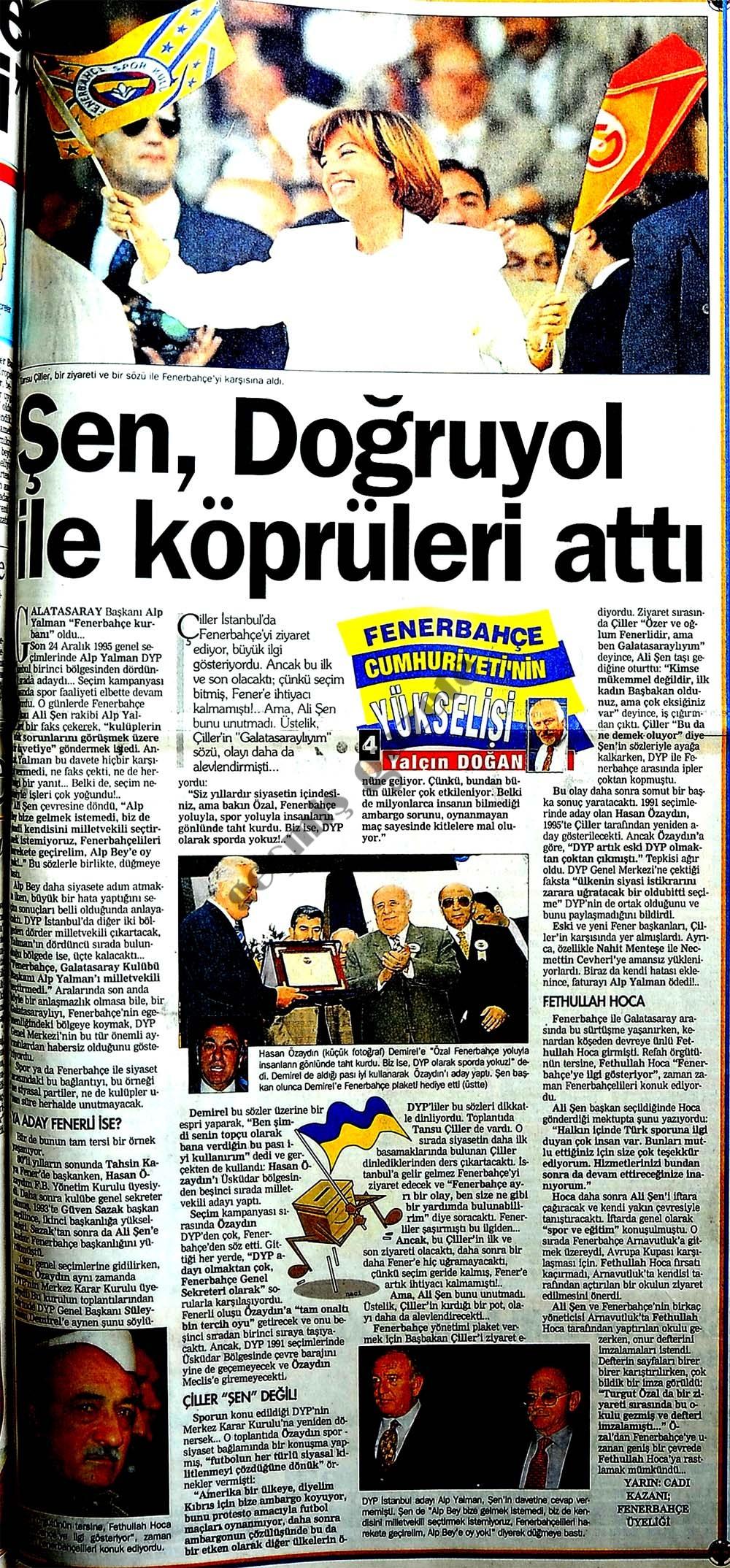 Fenerbahçe Cumhuriyeti'nin yükselişi