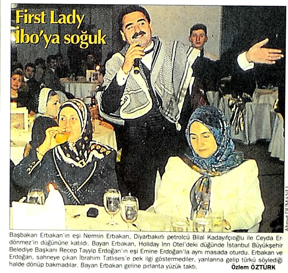 First Lady İbo'ya soğuk
