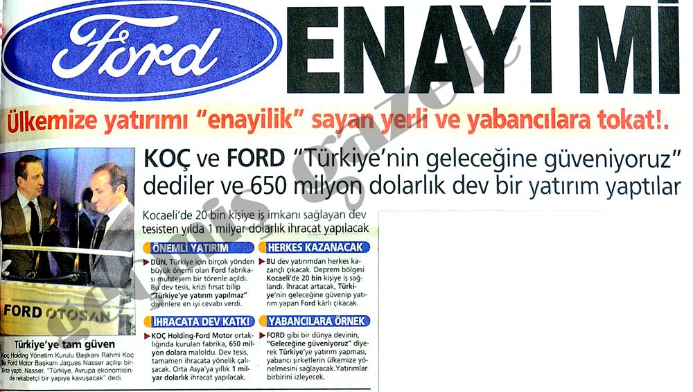 Ford enayi mi