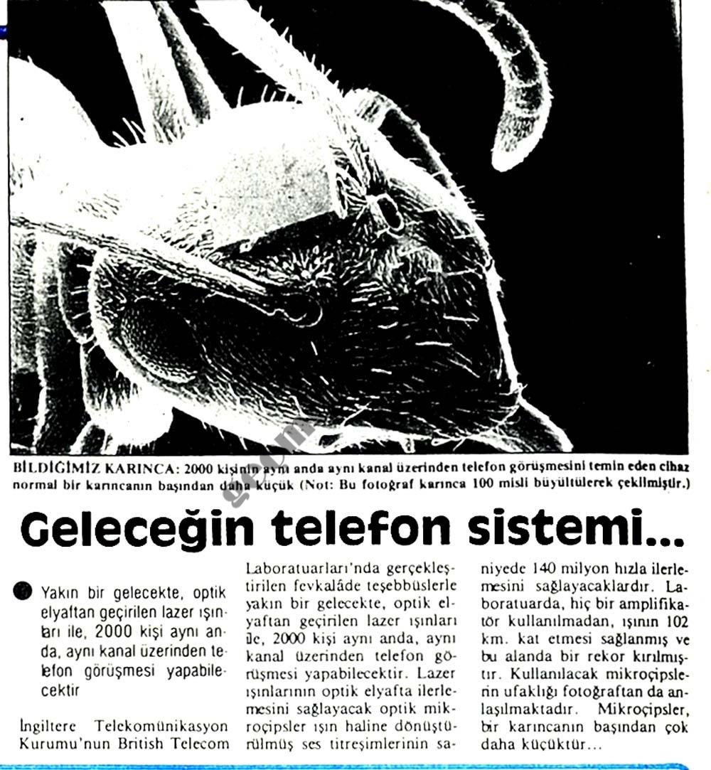 Geleceğin telefon sistemi...