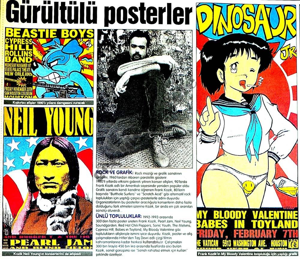 Gürültülü posterler