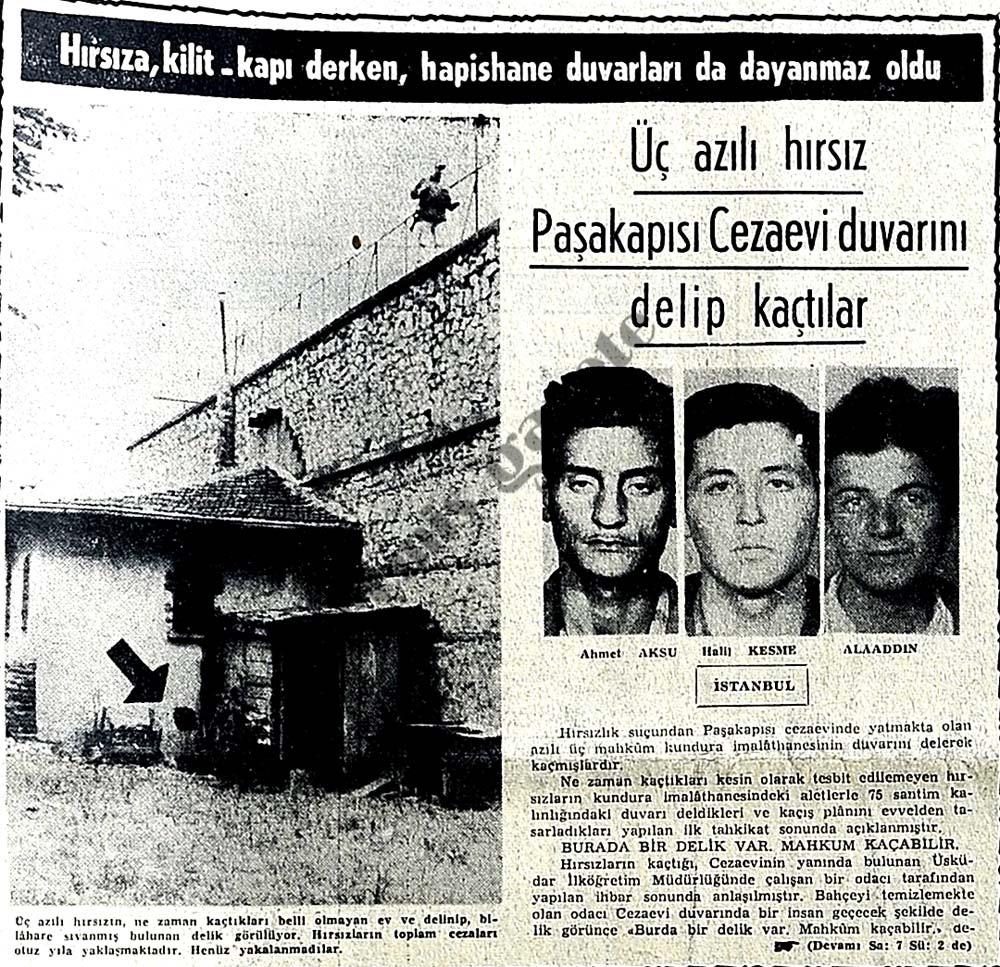 Hırsıza, kilit-kapı derken, hapishane duvarları da dayanmaz oldu