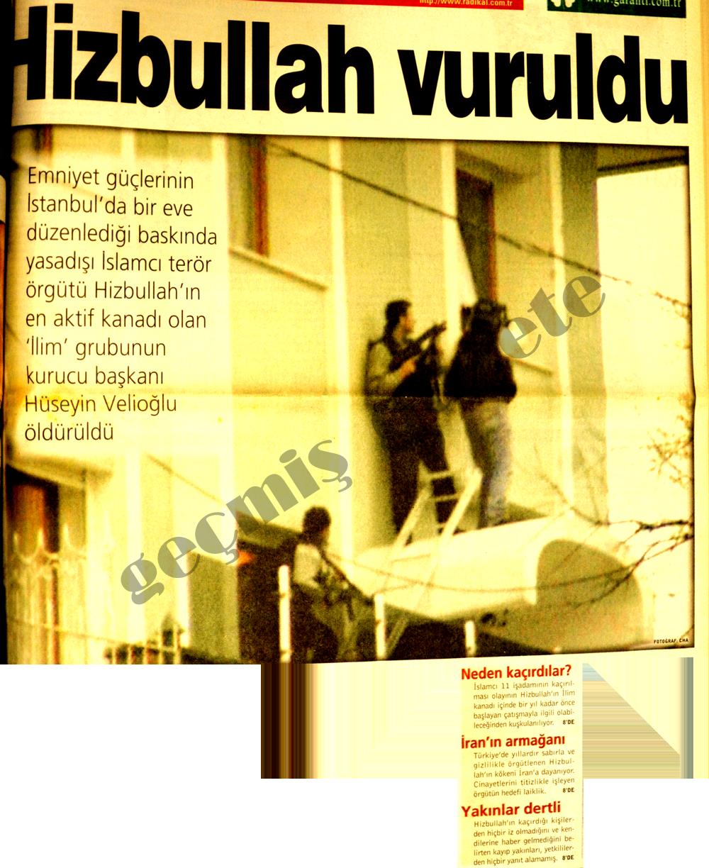 Hizbullah vuruldu