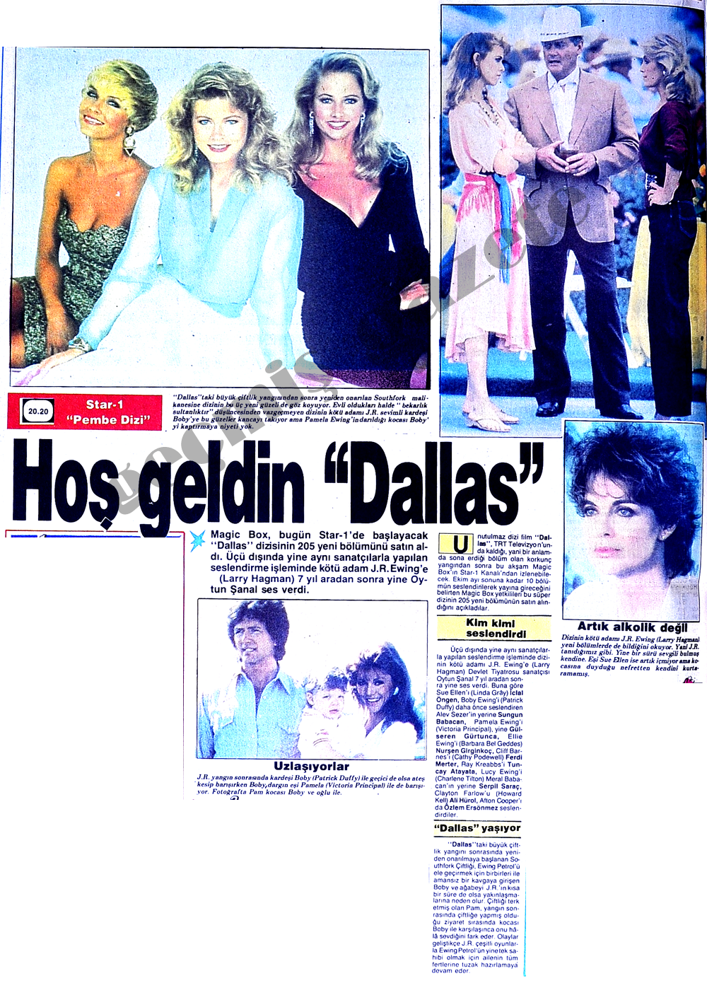 "Hoş geldin ""Dallas"""
