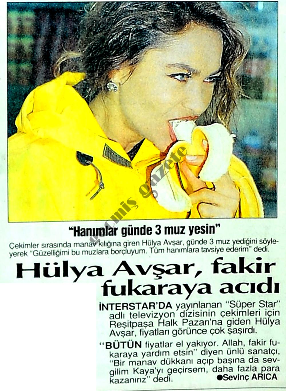 Hülya Avşar, fakir fukaraya acıdı