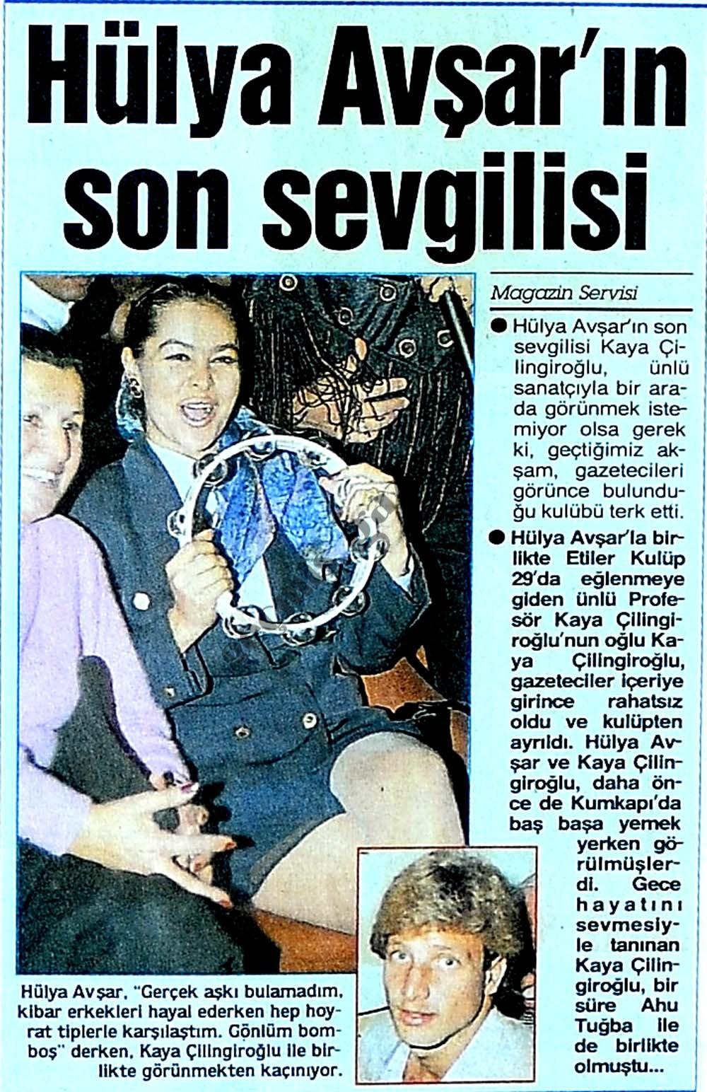 Hülya Avşar'ın son sevgilisi