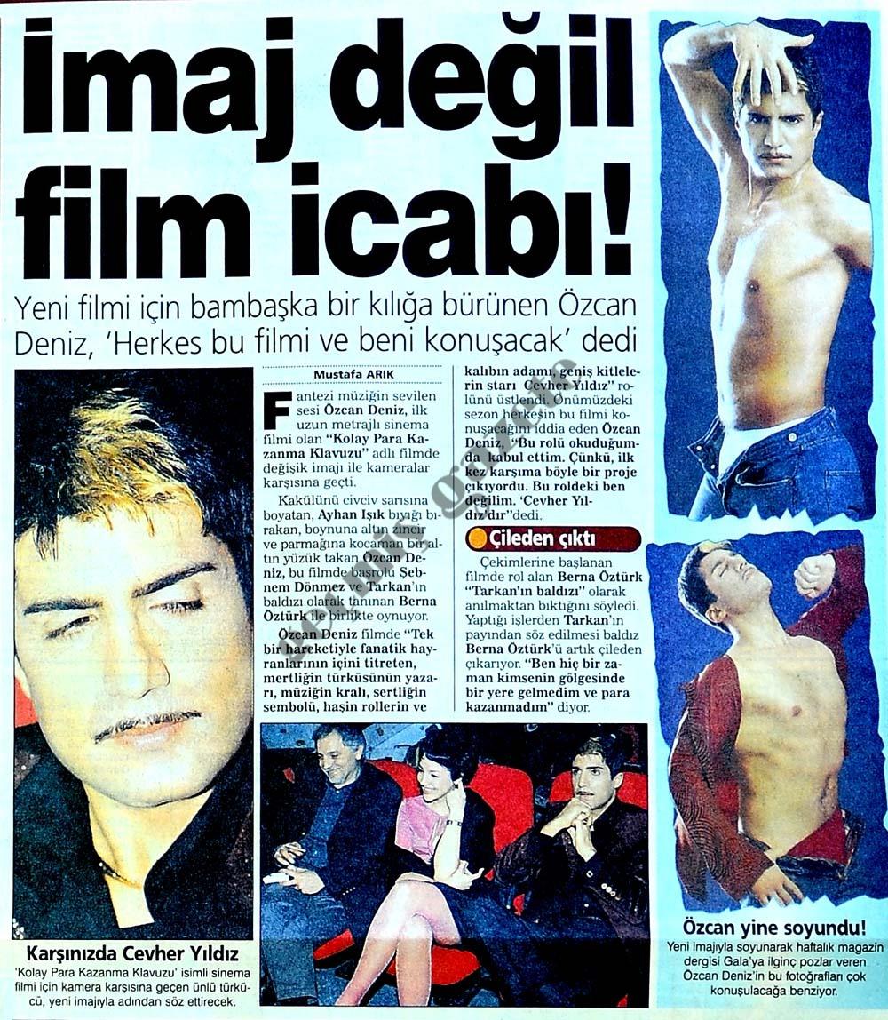 İmaj değil film icabı