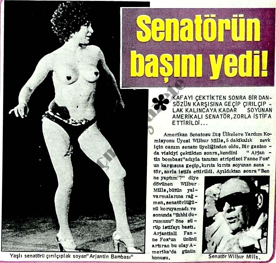 Senatörün başını yedi!
