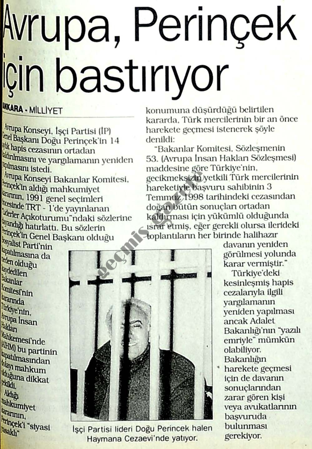 Hapisteki lider