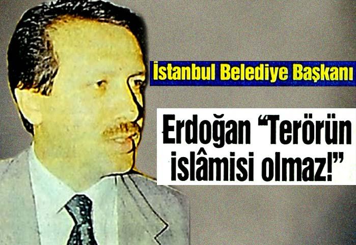 """Erdoğan """"Terörün islamisi olmaz!"""""""